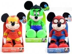 Marvel Disney Plush Toys Spiderman / Hulk / /Iron Mickey Mouse And Minnie Mouse Stuffed Animals Toys