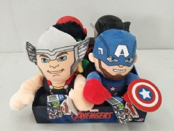 New Marvel Cartoon Plush Toys Cute Stuffed Animals