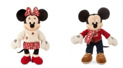White Red Promotion Disney Plush Toys  Minnie Mouse Stuffed Toys For Festival