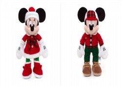 New 2017 Disney Christmas Mickey mouse And Minnie Mouse Plush Toys 18inch